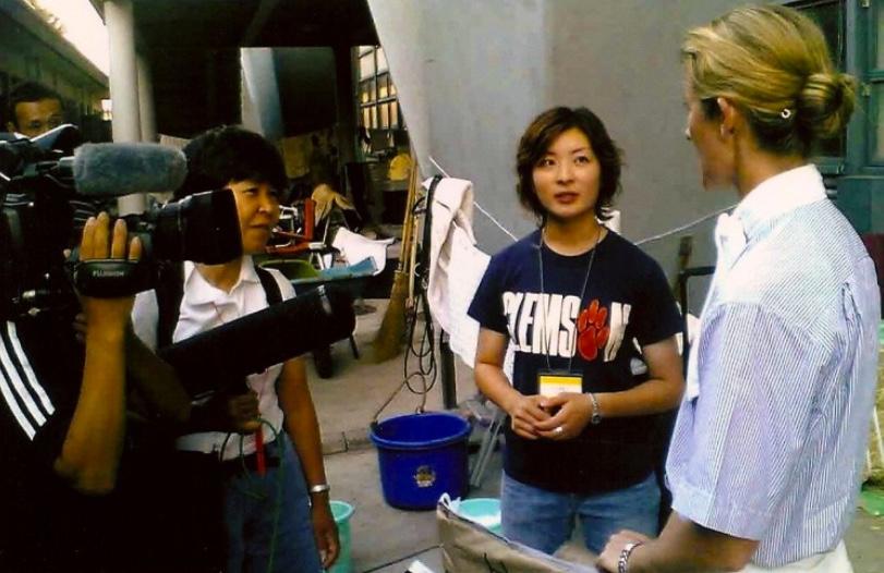 Kelly in Japan
